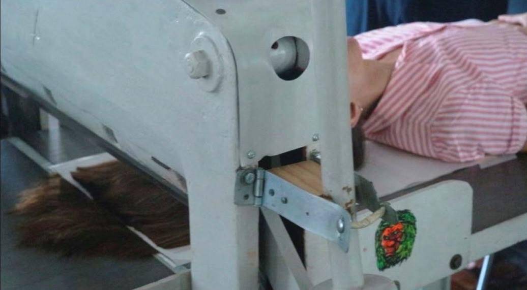 Marie Carangi Corte estilo guillotina