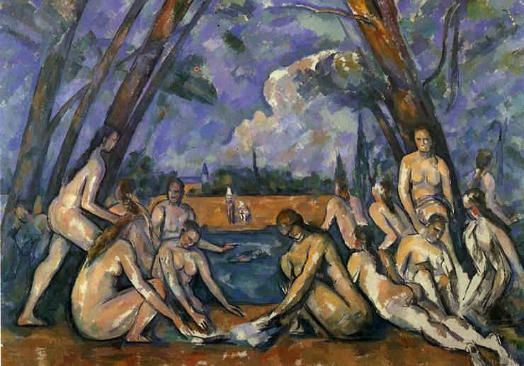 Les Grandes Baigneuses, 1906