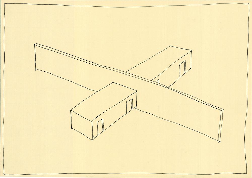 Manolis Baboussis, Untitled, 2013, encre sur papier, 29,7 x 42 cm