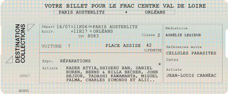DESTINATION COLLECTIONS #1 – FRAC Centre – Val de Loire