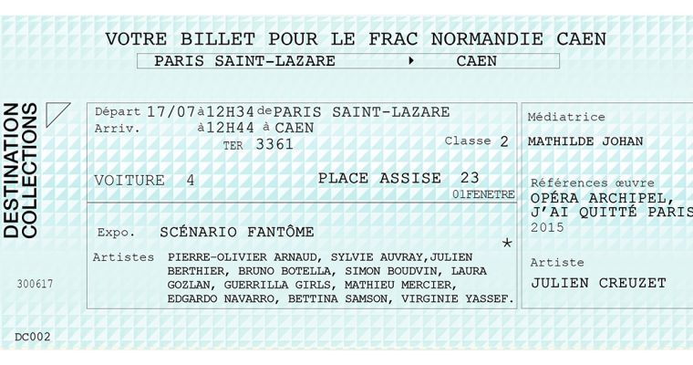 DESTINATION COLLECTIONS #2 – FRAC Normandie Caen