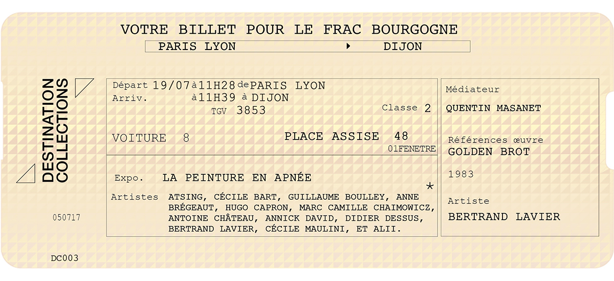 DESTINATION COLLECTIONS #3 - FRAC Bourgogne