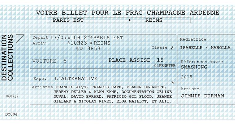 DESTINATION COLLECTIONS #4 – FRAC Champagne-Ardenne