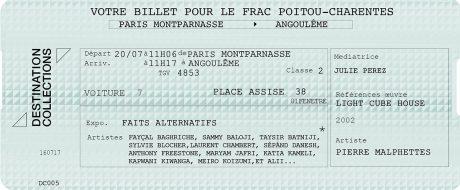 DESTINATION COLLECTIONS #5 – FRAC Poitou-Charentes