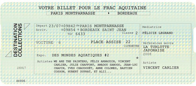 DESTINATION COLLECTIONS #6 – FRAC Aquitaine