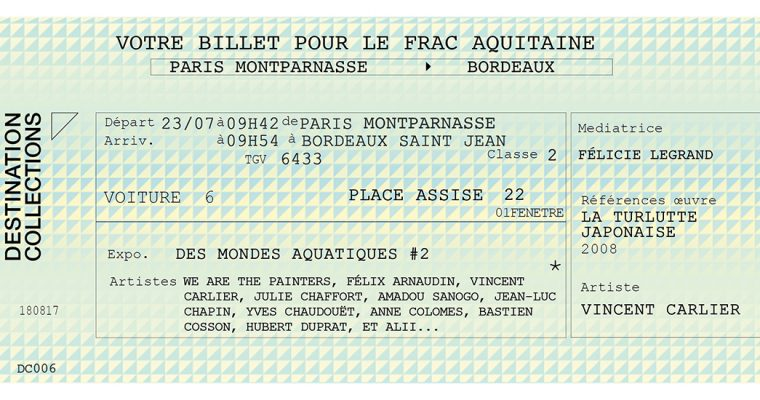 DESTINATION COLLECTIONS #6 – FRAC Aquitaine