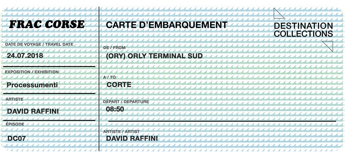 DESTINATION COLLECTIONS #7 – FRAC Corsica
