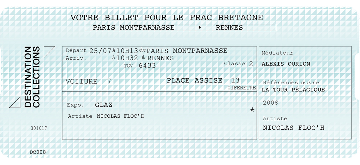 DESTINATION COLLECTIONS #8 – FRAC Bretagne