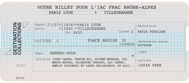 DESTINATION COLLECTIONS #10 – IAC Villeurbanne / Rhône-Alpes