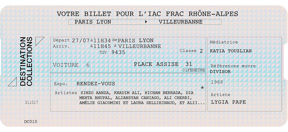 DESTINATION COLLECTIONS #10 - IAC Villeurbanne / Rhône-Alpes