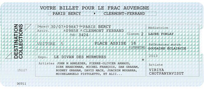DESTINATION COLLECTIONS #11 – FRAC Auvergne