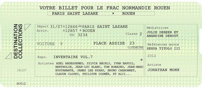DESTINATION COLLECTIONS #12 – FRAC Normandie Rouen