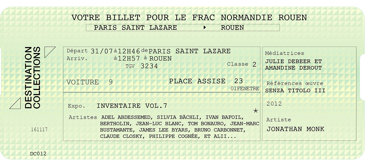DESTINATION COLLECTIONS #12 - FRAC Normandie Rouen