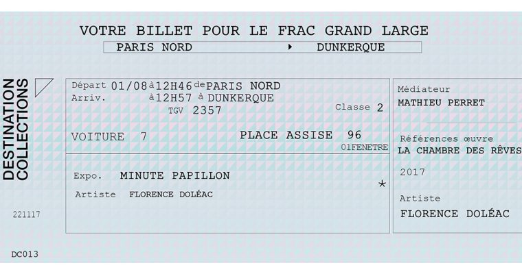 DESTINATION COLLECTIONS #13 – FRAC Grand Large – Hauts-de-France