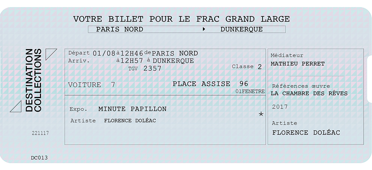 DESTINATION COLLECTIONS #13 - FRAC Grand Large - Hauts-de-France