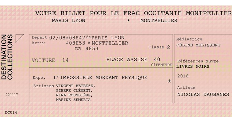 DESTINATION COLLECTIONS #14 – FRAC Occitanie – Montpellier