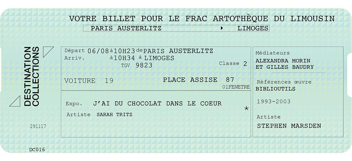 DESTINATION COLLECTIONS #16 - FRAC - Artothèque du Limousin