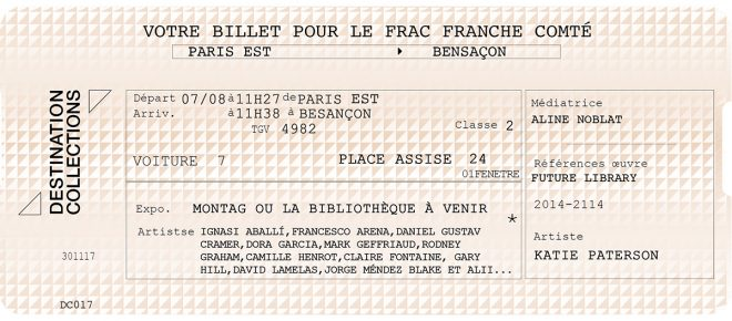 DESTINATION COLLECTIONS #17 – FRAC Franche-Comté