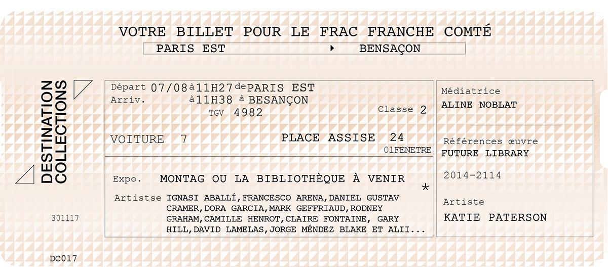 DESTINATION COLLECTIONS #17 - FRAC Franche-Comté