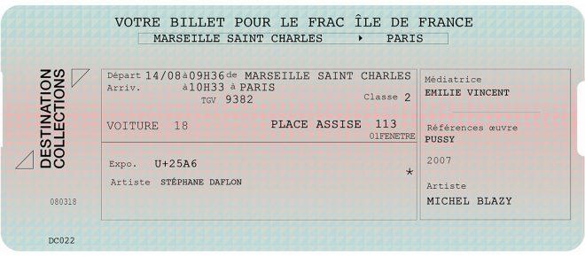 DESTINATION COLLECTIONS #22 – Le plateau / Frac Île de France Paris