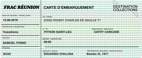 DESTINATION COLLECTIONS #23 – FRAC Réunion