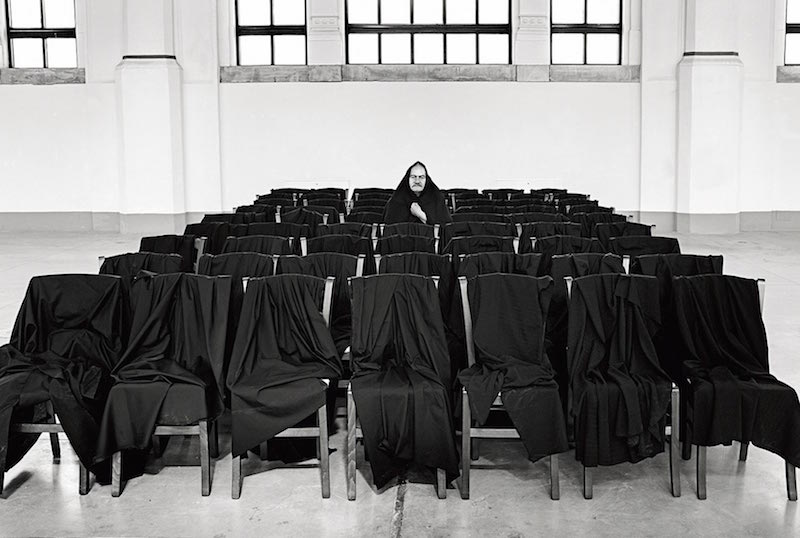 Manolis Baboussis, Jannis kounellis, 2013. Lambda print, 30 x 40 cm.