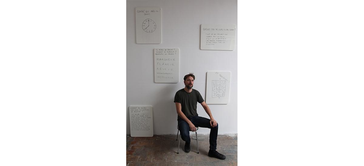 David de Tscharner - Portrait magnétique par John Lippens