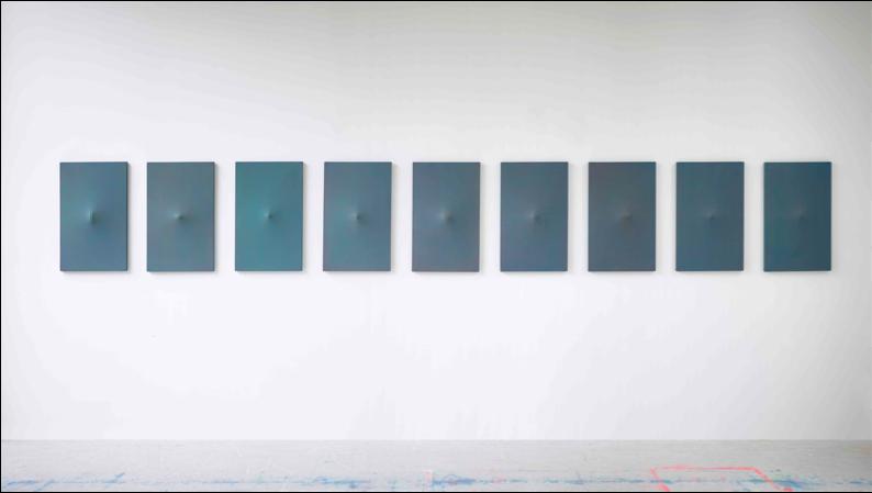 Tous les matins du monde, 2015, 70 x 495 cm - Courtesy Michel Mouffe