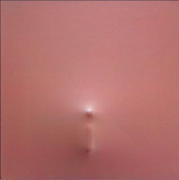 Untitled, 2017, 70 x 70 cm. Courtesy Michel Mouffe