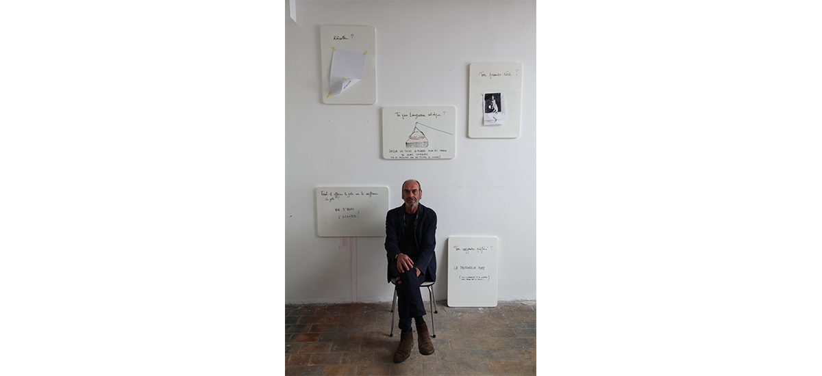 Michel Mouffe: à corps et à cris - Portrait magnétique par John Lippens