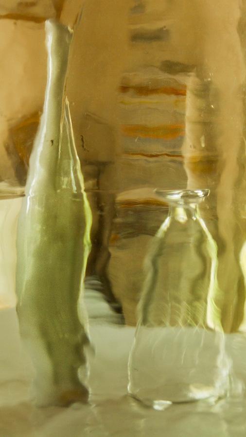 Suzanne Mothes, Sans titre, série En-VerS, VERRE, vert, 2015
