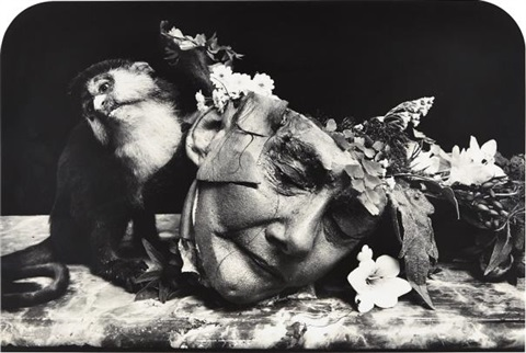 Joel-Peter-Witkin, Face of a woman, Marseilles, 2004, tirage gelatino-argentique, 56,2 x 83,5 cm, Bruce Silverstein Gallery, New York