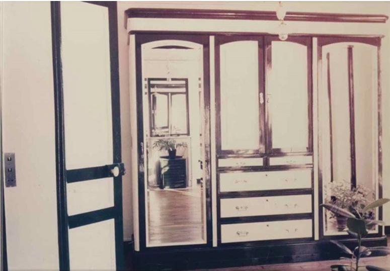 L'atelier et le peintre, photographie, 1976
